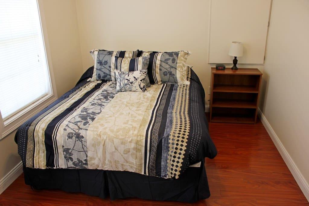 Bedroom 1  Main Level Queen Bed