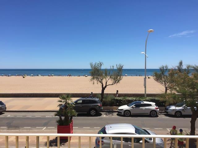 Front de mer - 100m² - Vue magnifique - Valras-Plage - Appartement