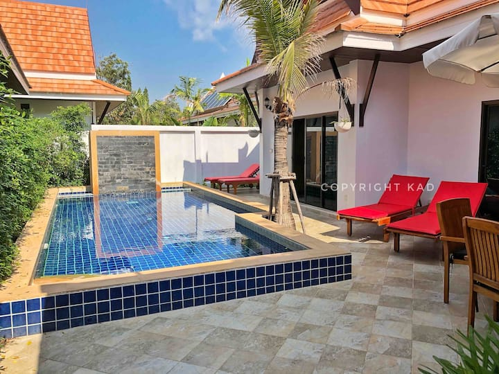 Thai Pool Villa 3 beds 2 bath Rayong.