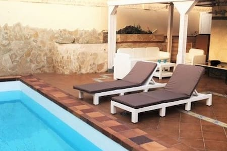 COMFORTABLE VILLA EN MASPALOMAS, PRIVATE  POOL - サンバルトロメデティラハナ
