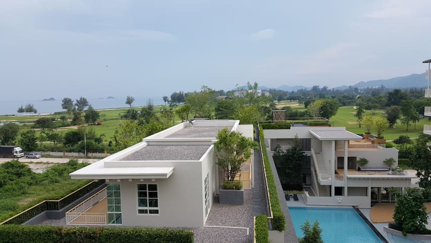 Seaview, Thai cozy and near beach - Hua Hin - Apartmen