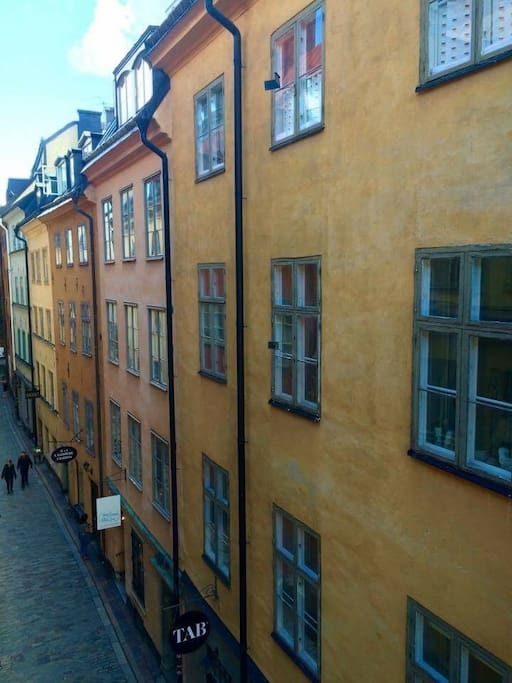 Old town in Stockholm - apartment next to Royal Palace