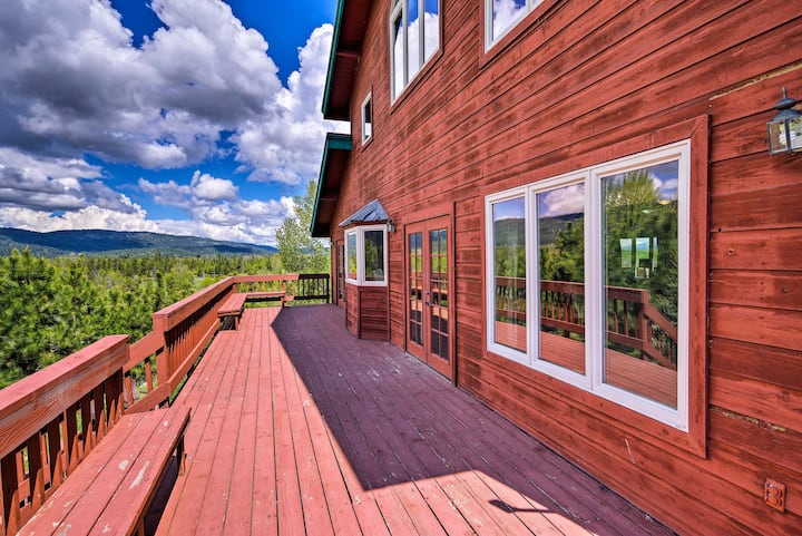 Spacious Riverfront Retreat on 10 Private Acres!