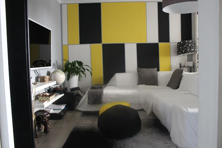 Cosy appart Paris-Le Bourget ( 30mn CDG airport )