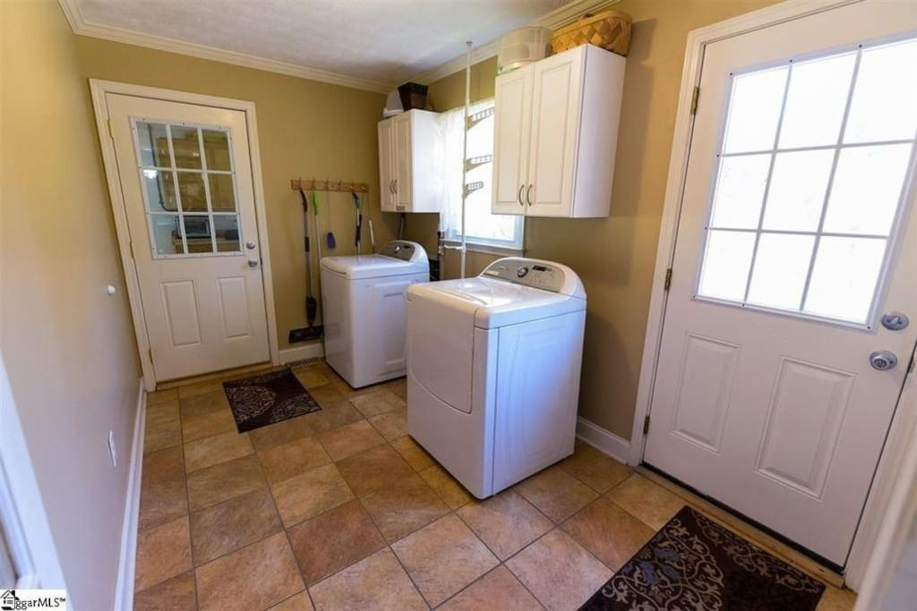 Laundry room if you need