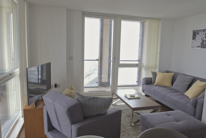Toothbrush Apartments 1 Bed Penthouse, Waterfront South, Parking, (10th Flr)