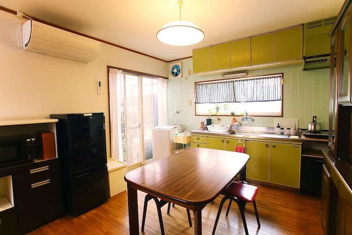 Osaka Sakai 2bedroom. Kansai airport direct access