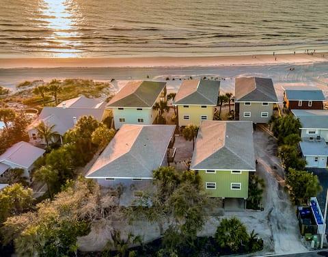 Quiet Beachfront Bungalow on Florida's Gulf Coast