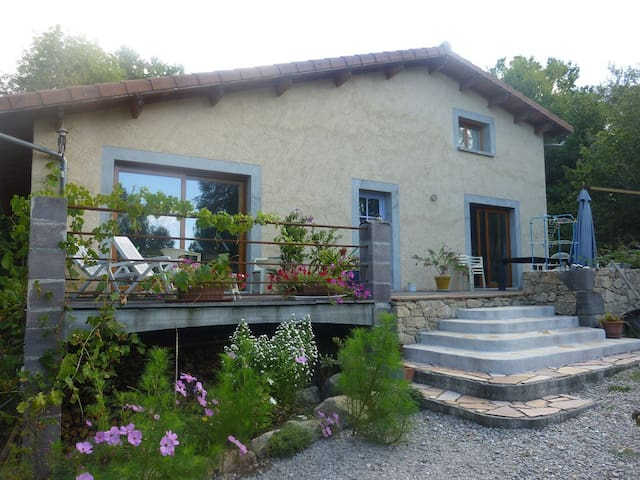 maison à la campagne - Roumégoux - Rumah