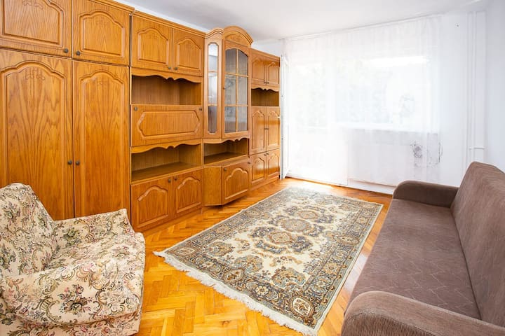 Bright apartment with easy acces to City Center