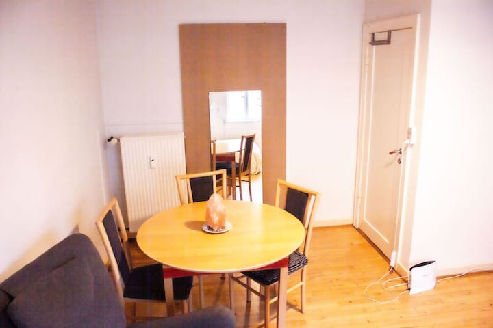 BEDROOM IN THE HEART OF NØRREBRO(7KM FROM CENTRAL)