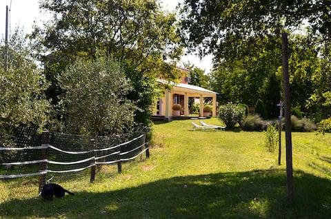 Mieszkanie na wsi na małym ranczu