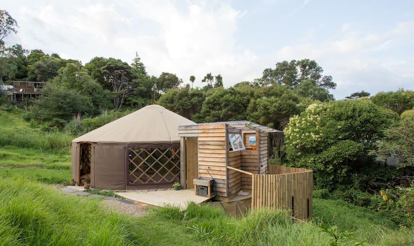 eco-friendly yurt life