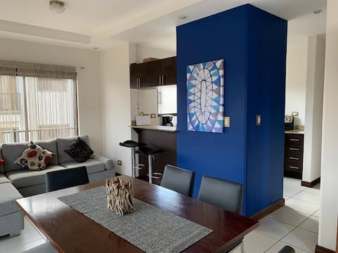 Modern apartment in centric spot VERY NEAR AIRPORT