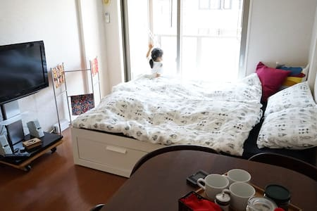 Best location★★★ TENJIN!! HAKATA!! NAKASU!! CANAL! - Fukuoka-shi - Apartment
