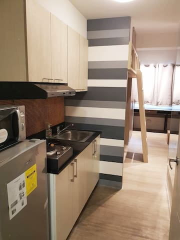 Furnished Katipunan Condo Unit in front of Ateneo