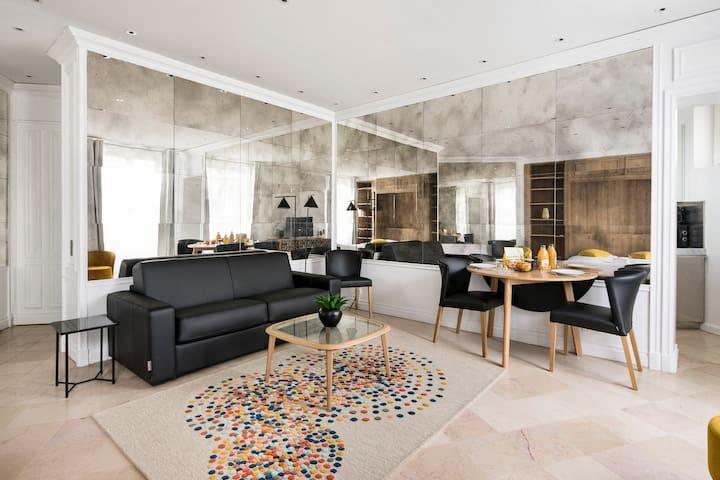 ❤️ Unique studio with Seine view- 4 ppl. ❤️