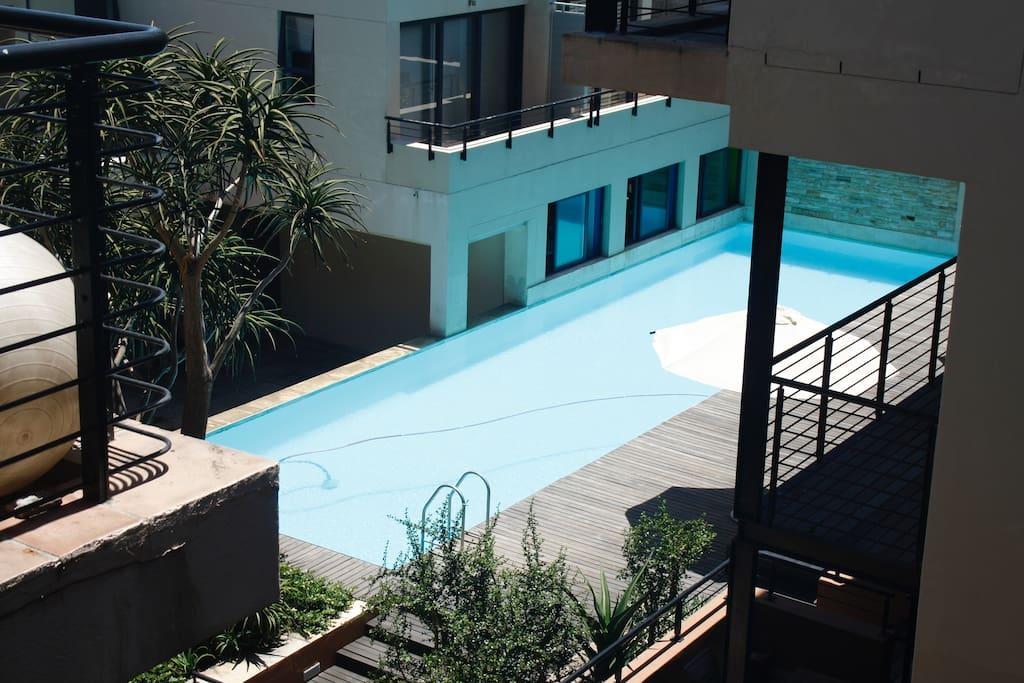 Swimming pool & sundeck