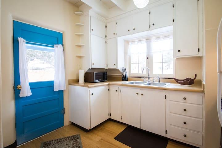 Kitchen & Front Door