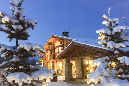 Luxury  Chalet and Spa Tia Maria near Bansko