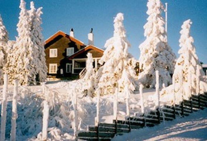 Sjarmerende tømmerhus på Sjusjøen - Ringsaker - Rumah