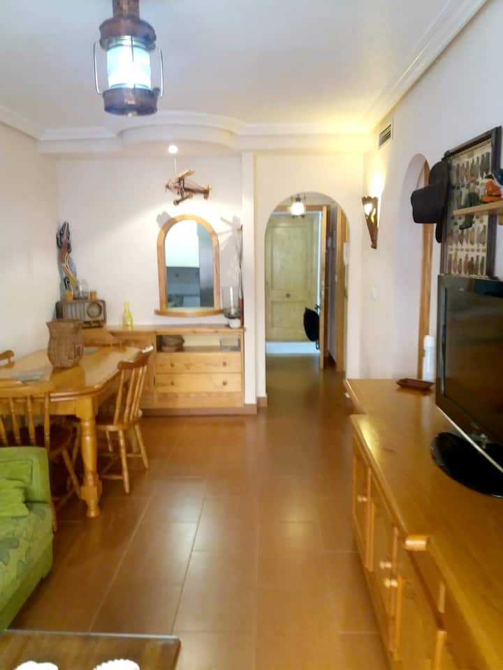 Apartment with 2 bedrooms in Los Alcázares, with wonderful city view, shared pool, terrace - 300 m from the beach