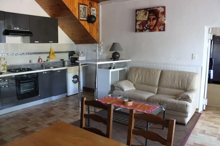 gîte les coccinelles - Saint-Étienne-de-Boulogne - Apartment