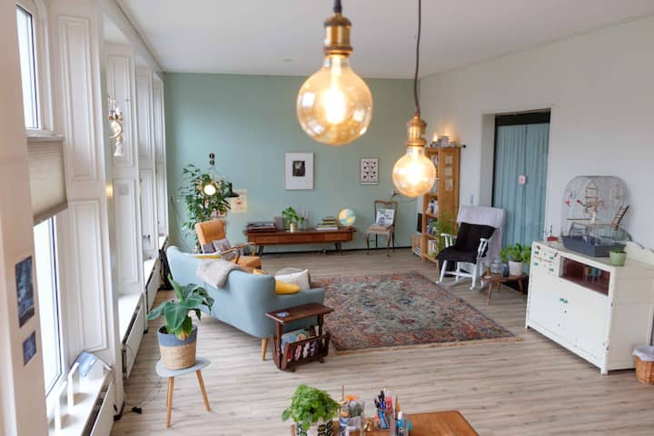 Spacious  apartment in the centre of Groningen