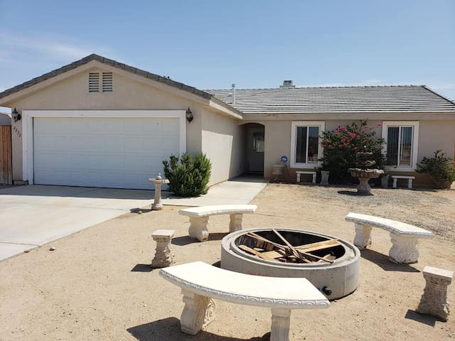 2 Bed / 2 Ba House, situated in front of 5th Wheel location.  Includes pool and hot tub! (Garage and 3rd Bedroom Not Included)