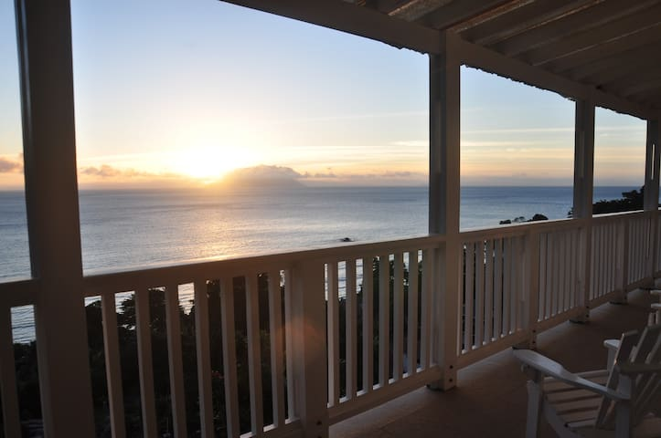 Holidaybungalow  Beautiful sunset ocean views - Beau Vallon - Vila