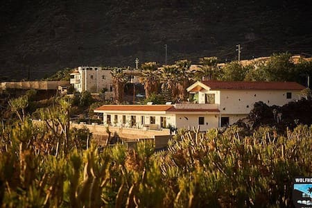 Wolfhouse - Exclusive Spanish Finca w Office Space - Santiago del Teide