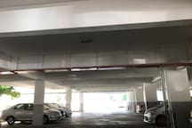 indoor carpark