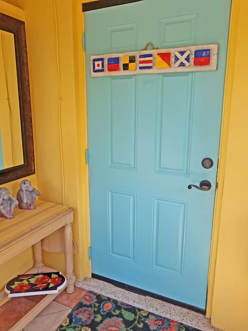 Myakka Side front door
