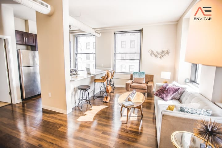 FREE PARKING | 2BR/2BA Brand New Executive Luxury Suite w/ Gym by ENVITAE