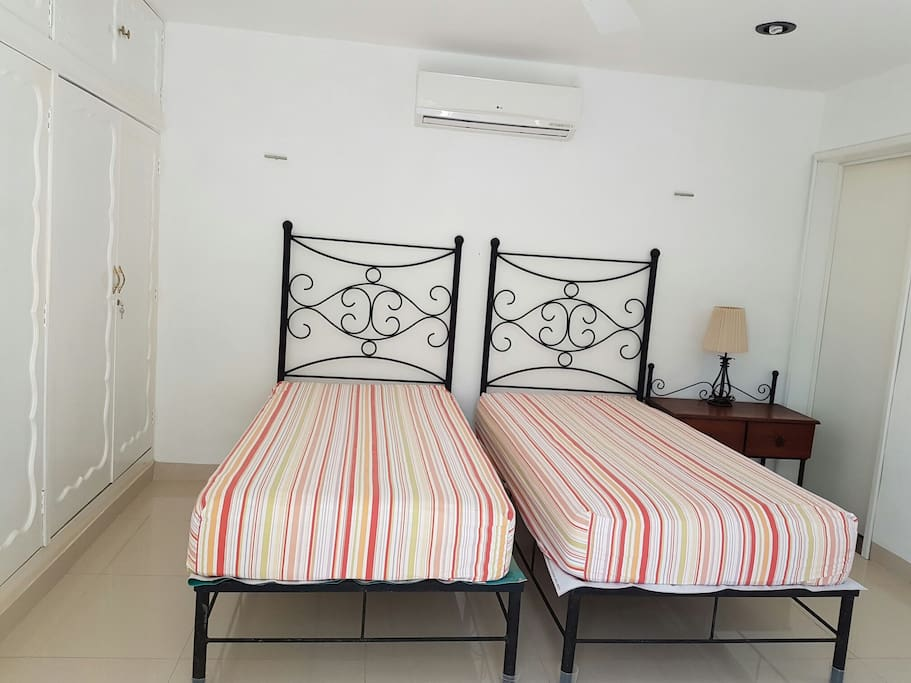 Cómodas camas individuales!