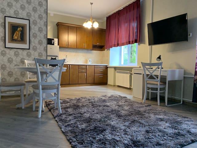 Идеально чистая квартира в центре