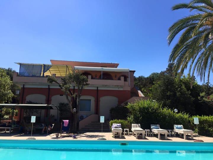 Villa Hotel beside the sea
