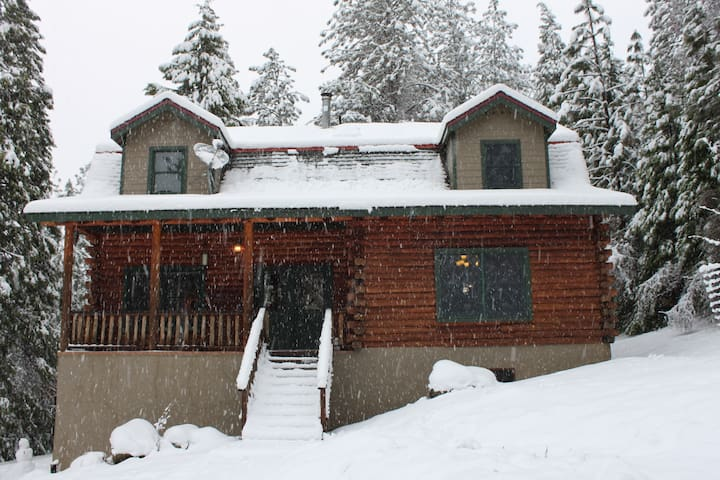 Cascade Cabin - Modern Log Home - Nevada City - Dom
