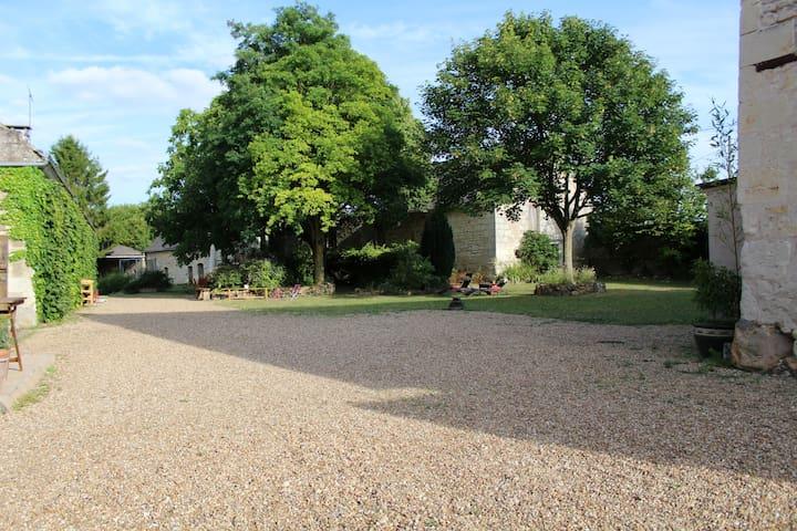 Gîte 2p avec piscine proche Saumur - Ambillou-Château - อพาร์ทเมนท์