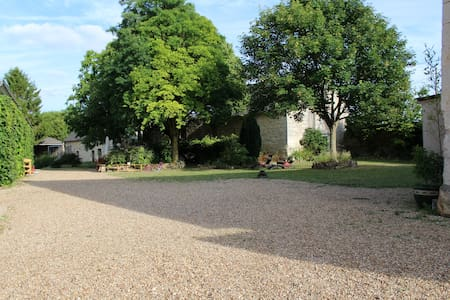 Gîte 2p avec piscine proche Saumur - Ambillou-Château - Huoneisto