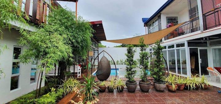 Bamboo residence