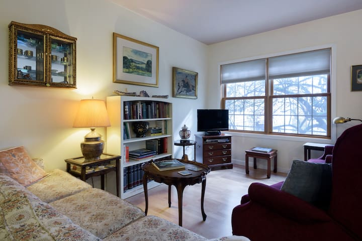 Art & Book Lovers Spacious Garden Apartment
