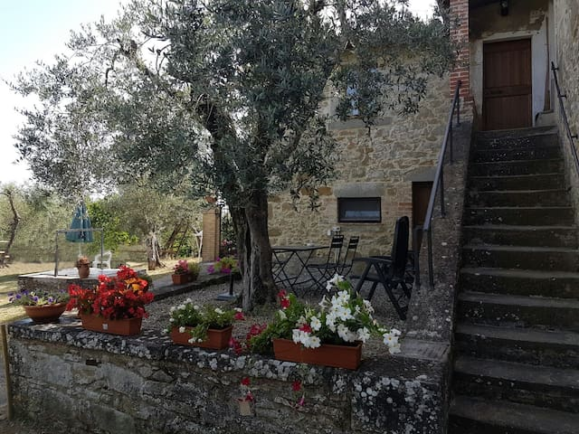 Casa Collebaldo, country home in Umbria Italy