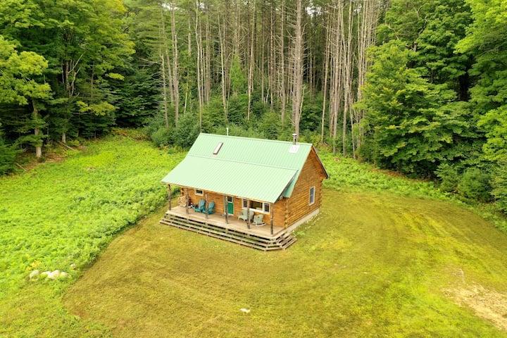 Last Frontier Log Cabin
