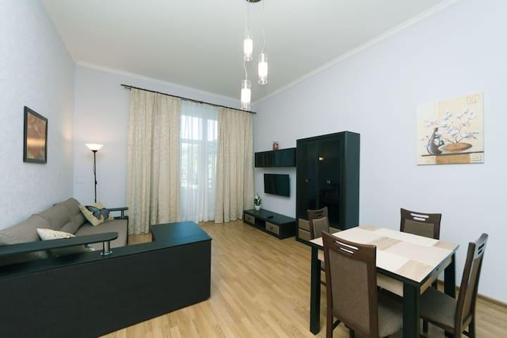 Good apartment on Lva Tolstogo 11 (33/1)