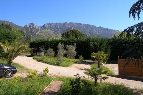 gite swimming pool parc du haut languedoc