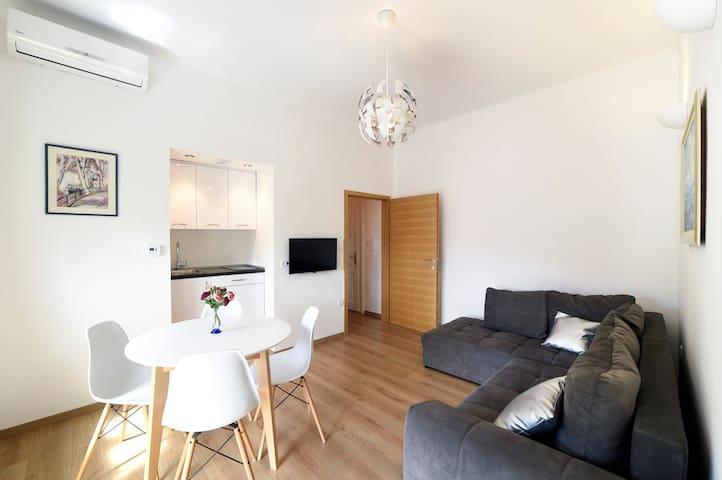 1 BEDROOM APT (40m²) WITH BALCONY IN VERY CENTER - Zagreb - Apartamento