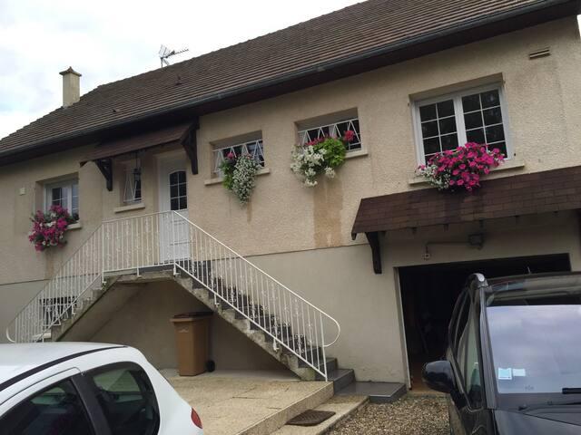chambres  en Normandie ( 5 personnes  )