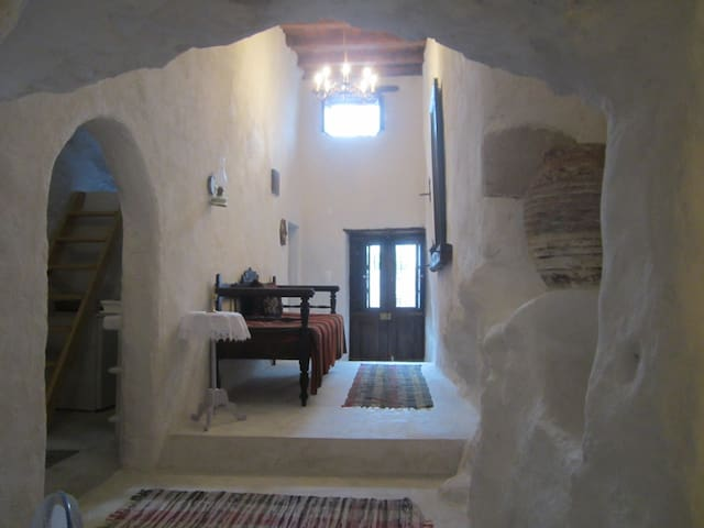 Cave style, unique full apartment.