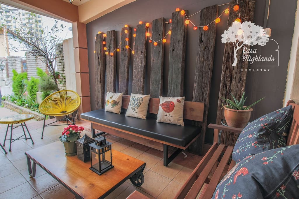 Gather here with your family and friends. This patio will be your favorite spot.
